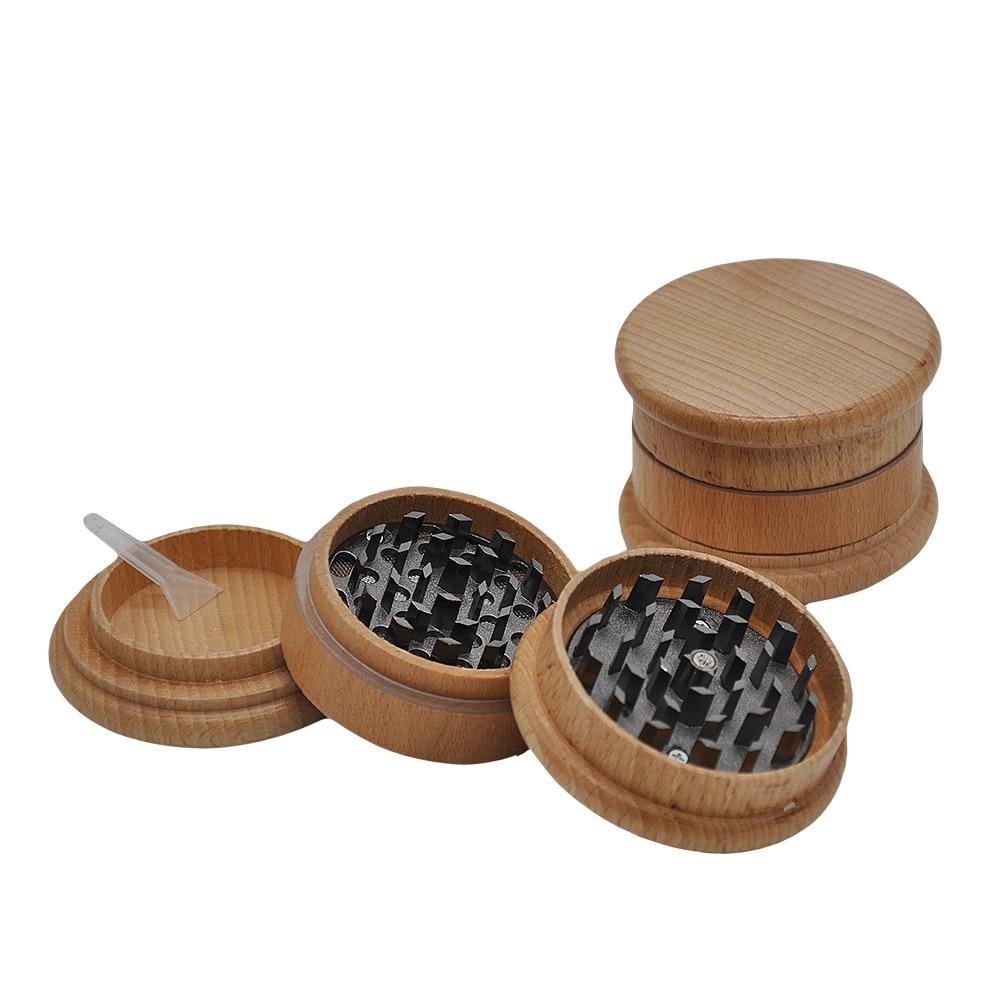 Grinder Rasta  Bois (3 Pièces)