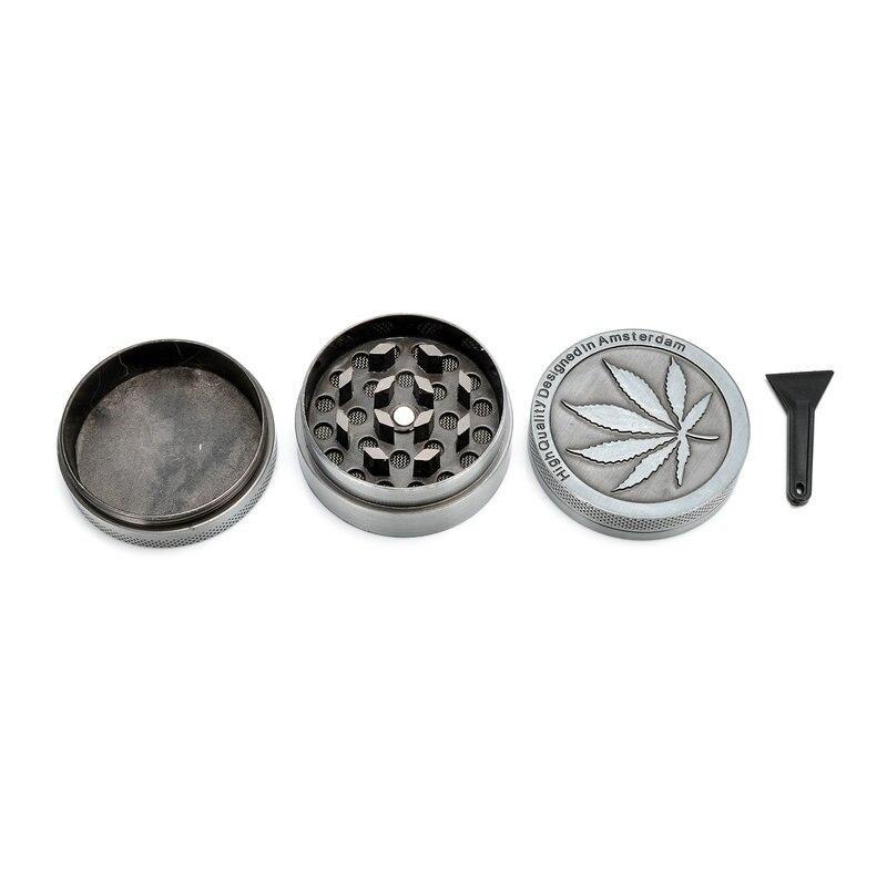 Grinder Rasta  Cannabis (3 Pièces)
