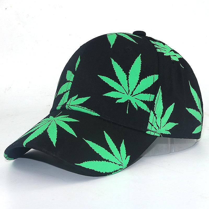 Casquette Rasta  Feuille Cannabis (Baseball)