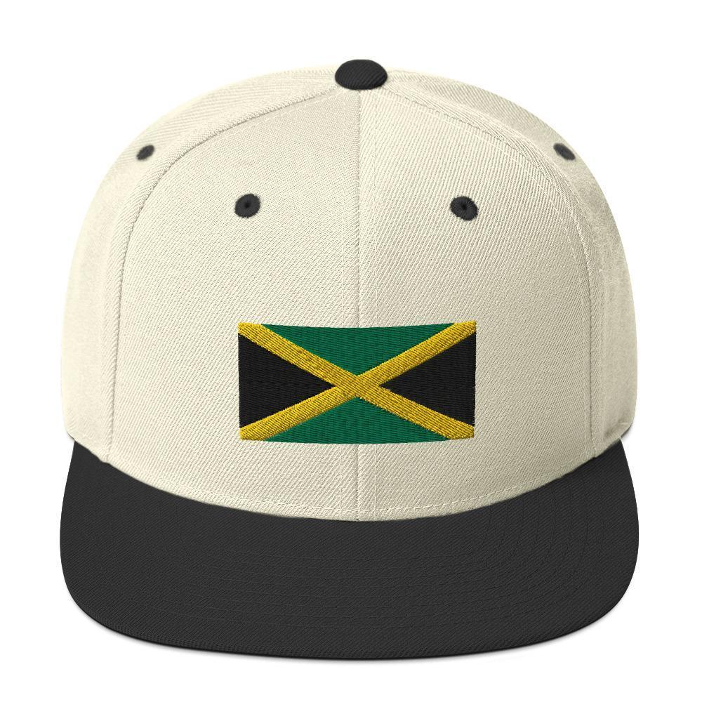 Casquette Rasta  Jamaïque (Snapback)