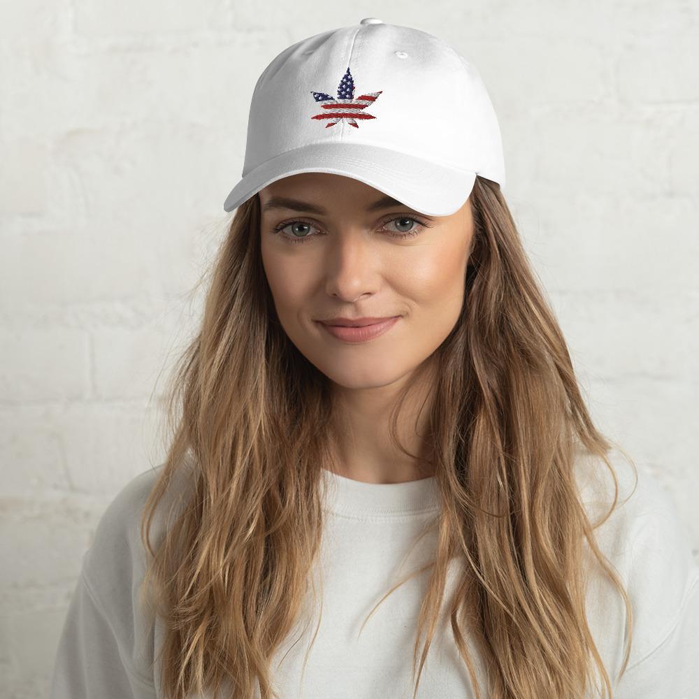 Casquette Rasta  Cannabis USA (Baseball)