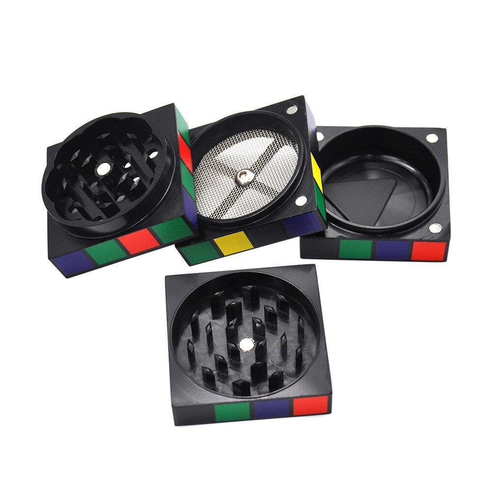 Grinder Rasta  Rubik's Cube (4 Pièces)