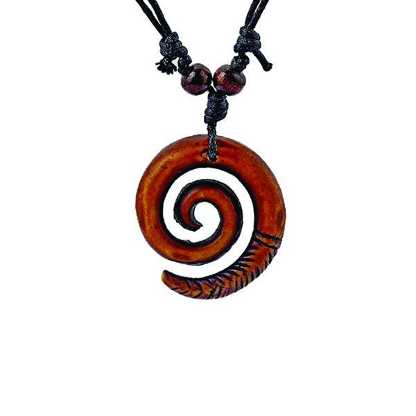 Collier Rasta  Spirale (Coton)