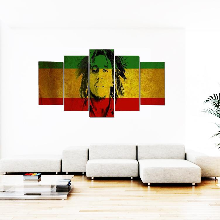 Tableau Rasta  Bob Nesta Marley