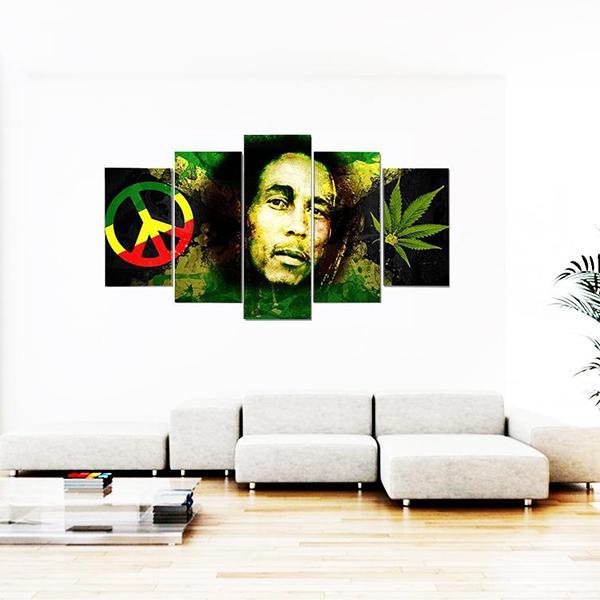 """Tableau Rasta  Robert """"Bob"""" Marley"""