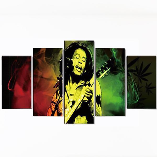 Tableau Rasta  Bob Marley