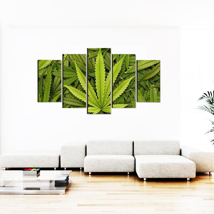 Tableau Rasta  Cannabis