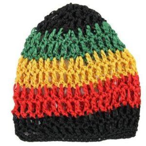 Bonnet Rasta  Rastafari (Filet)