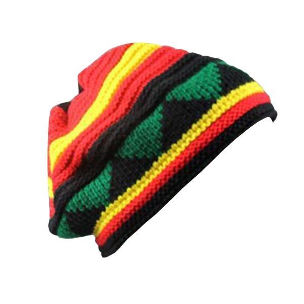 Bonnet Rasta  Design Tricolore (Classique)