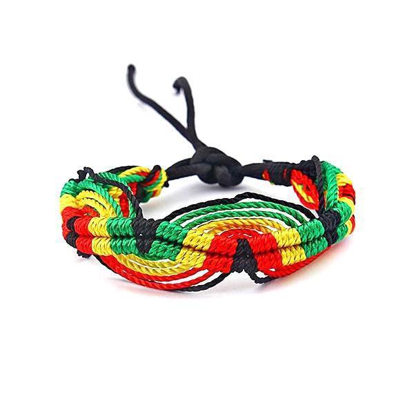 Bracelet Rasta  Chaleur Horizontale (Brésilien)