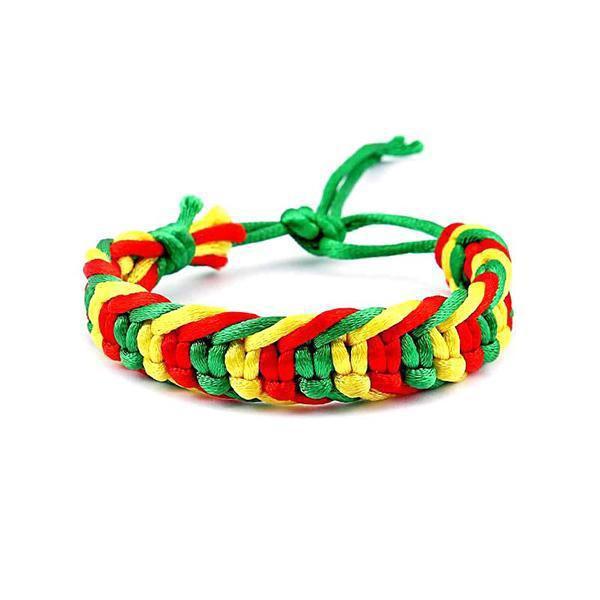 Bracelet Rasta  Couleur Rasta (Brésilien)