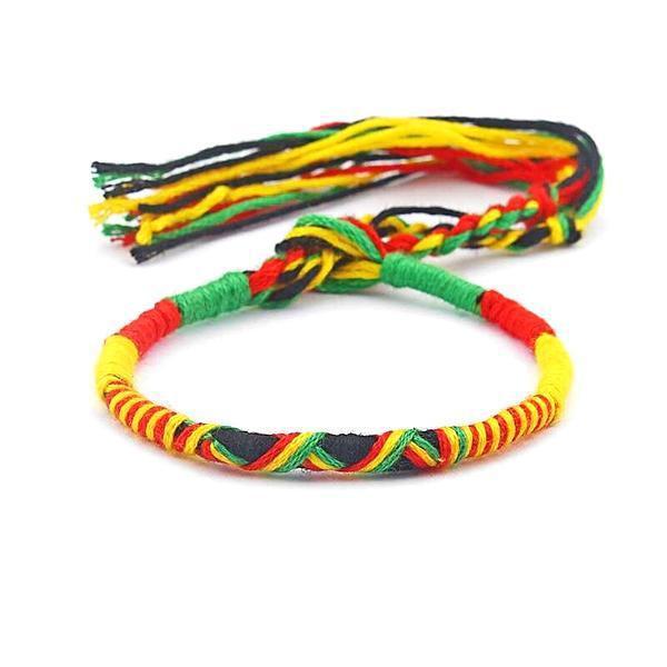 Bracelet Rasta  Rond Rasta (Brésilien)