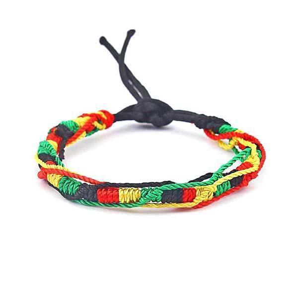 Bracelet Rasta  Reggae Roots (Brésilien)