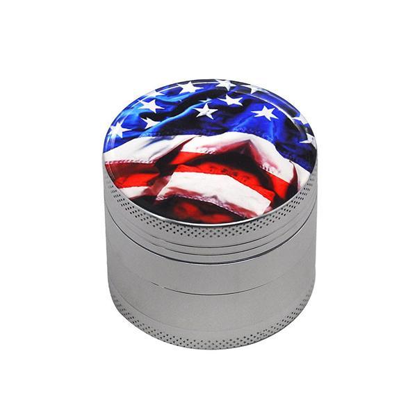 Grinder Rasta  Drapeau USA (4 Pièces)