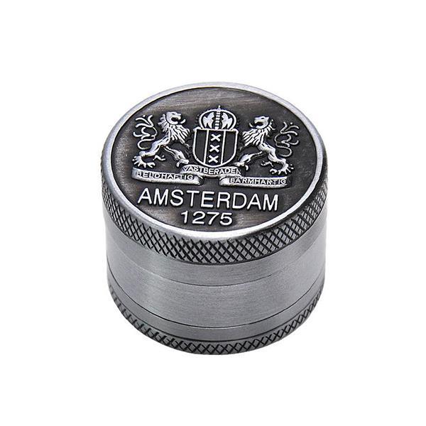Grinder Rasta  Blason Amsterdam (3 Pièces)