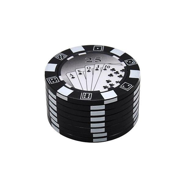 Grinder Rasta  Jeton De Poker (3 Pièces)