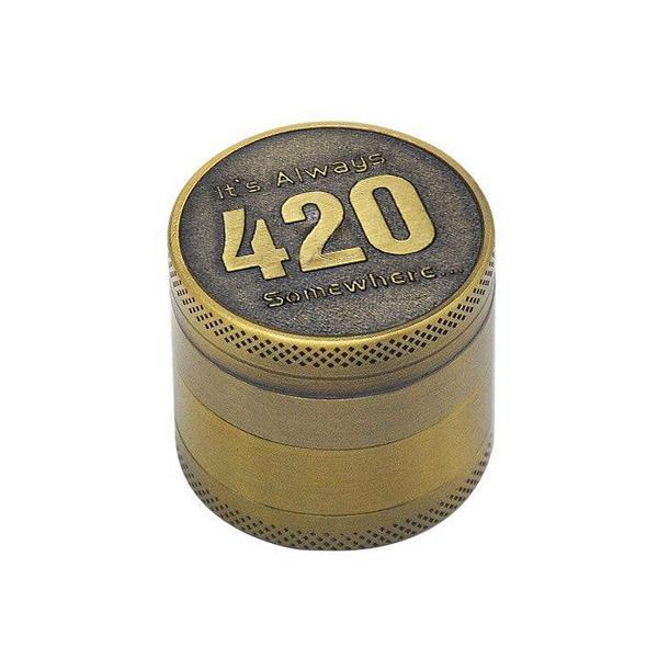 Grinder Rasta  420 (4 Pièces)