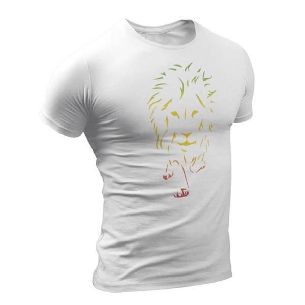 T-Shirt Rasta  Lion Rasta
