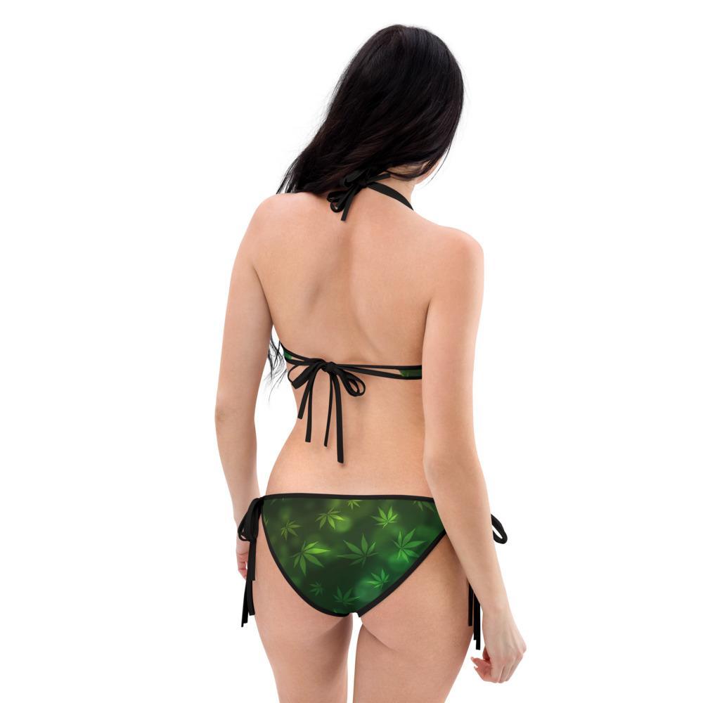 Maillot De Bain Rasta  Feuille Cannabis (Bikini)