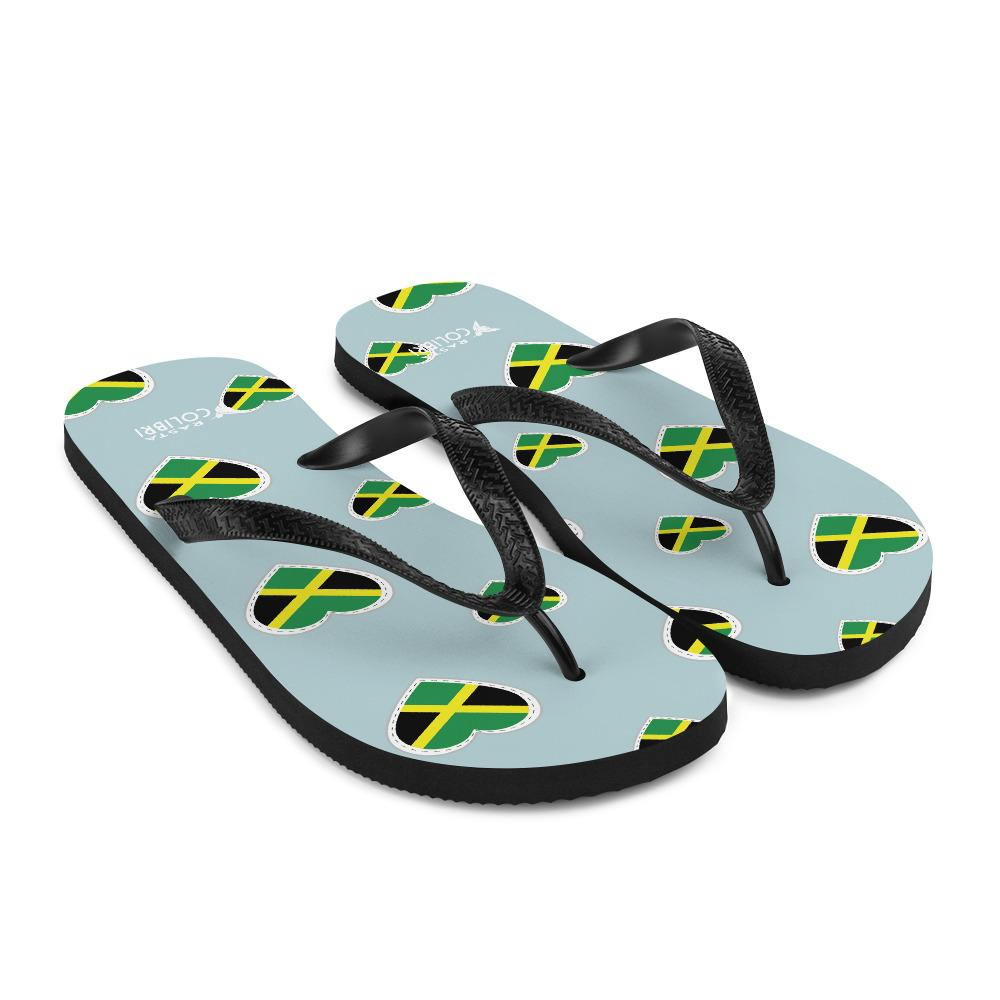 Tongs Rastas  Drapeaux Jamaïque