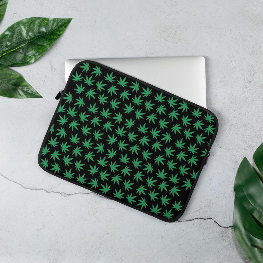 Housse PC Rasta  Spray Cannabis