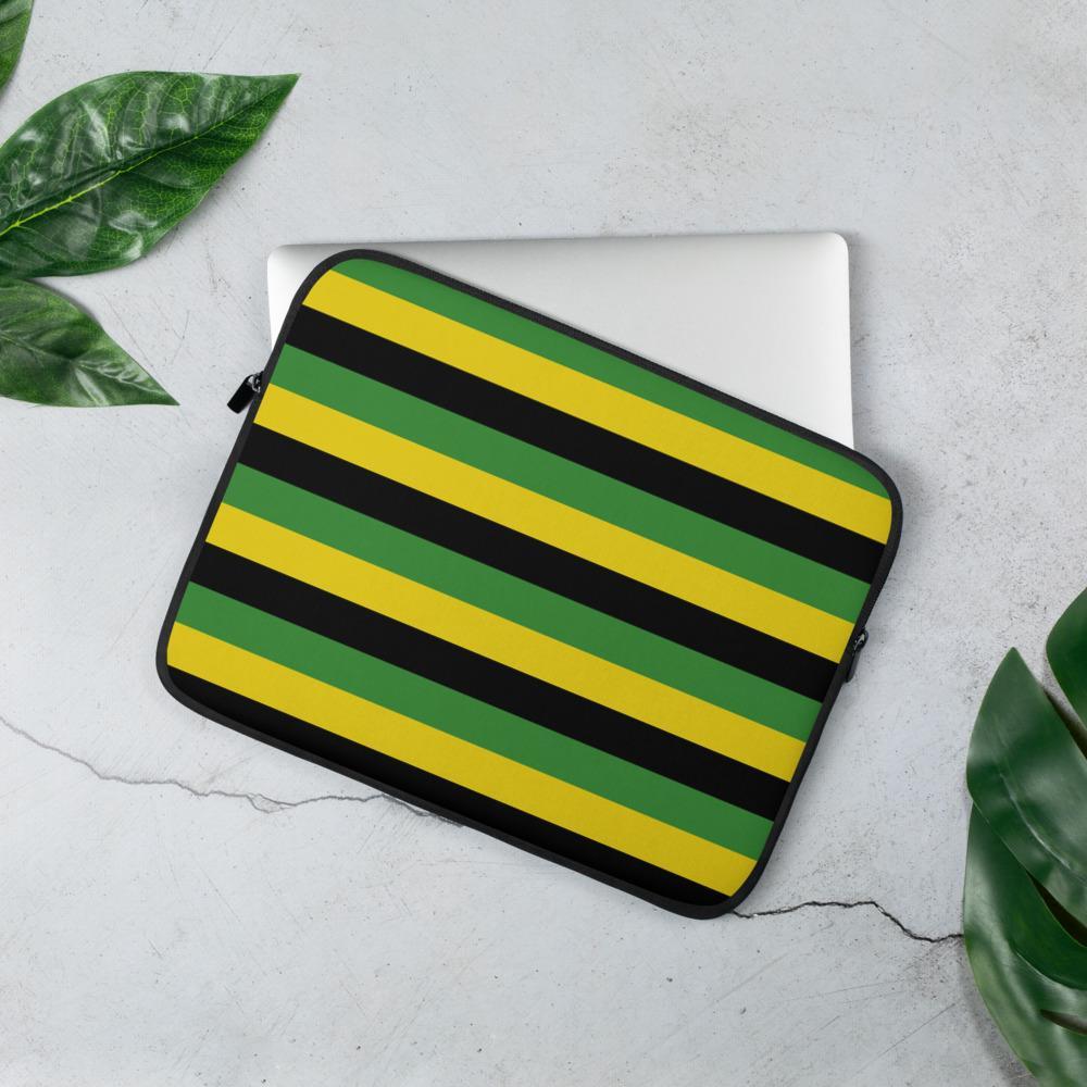 Housse PC Rasta  Rayons Jamaïque