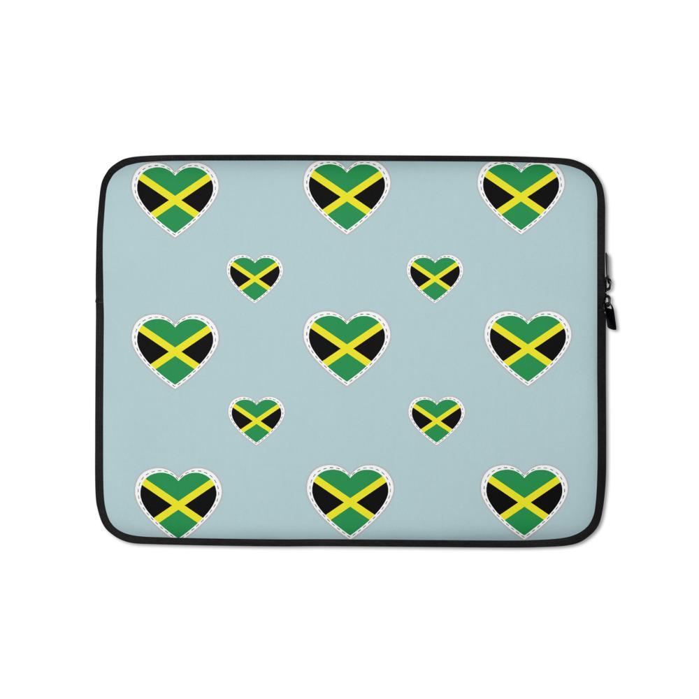 Housse PC Rasta  Love Jamaïque
