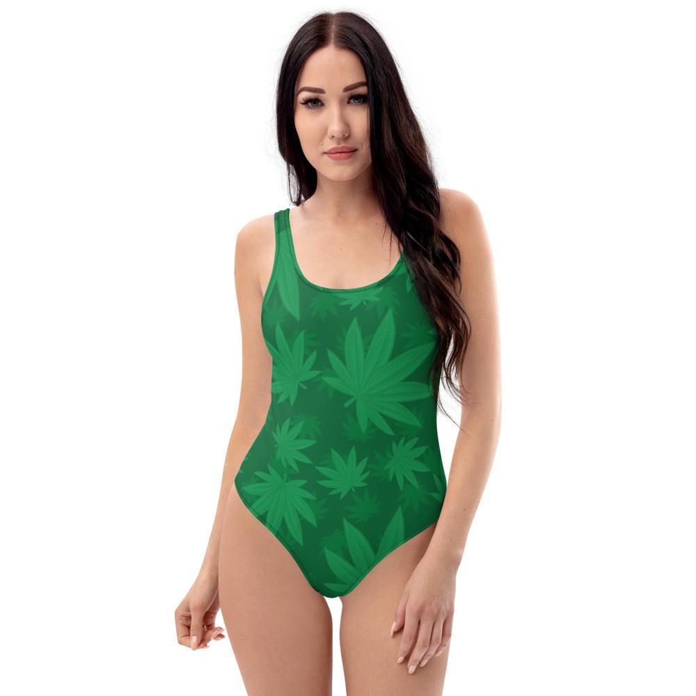Maillot De Bain Rasta  Cannabis Femme (1 Pièce)