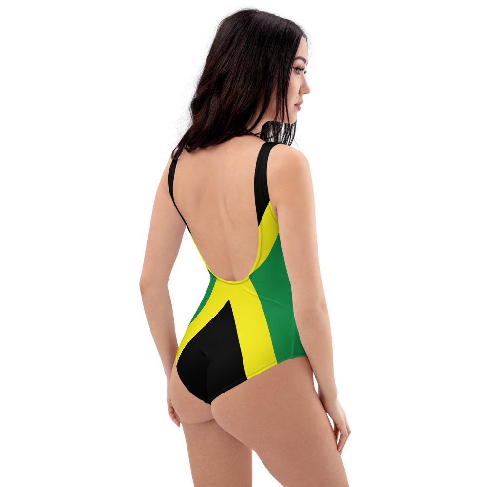 Maillot De Bain Rasta  Couleur Jamaïque (1 Pièce)