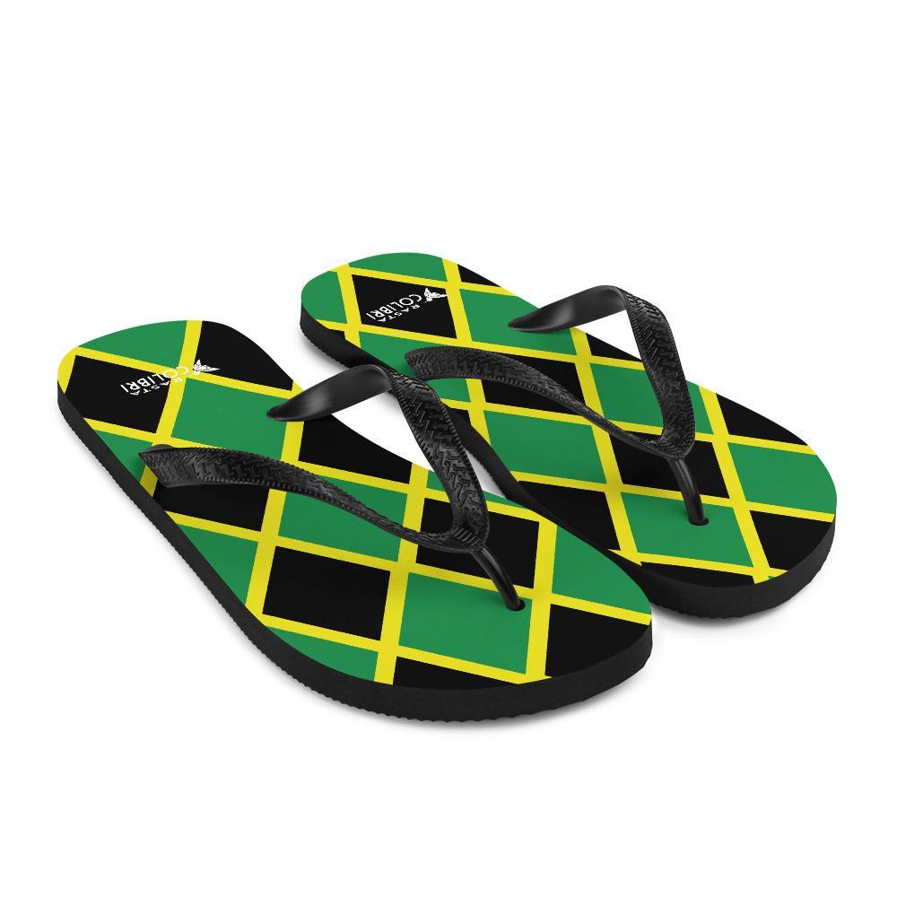 Tongs Rastas  Mosaïque Jamaïque