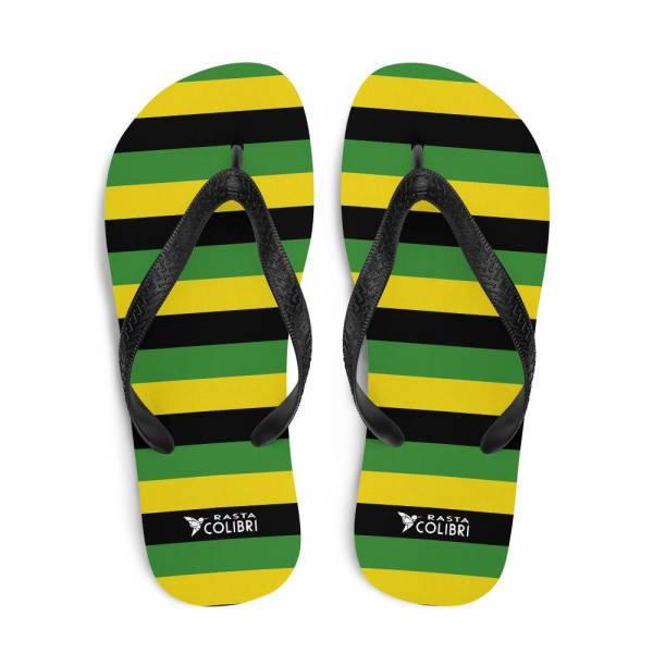 Tongs Rastas  Couleurs Jamaïque
