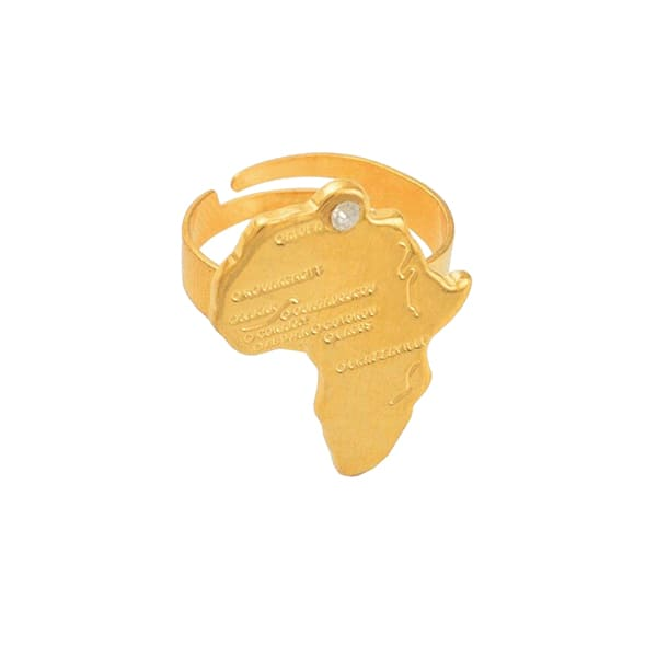 Bague Rasta  Beauté d'Afrique (Acier)
