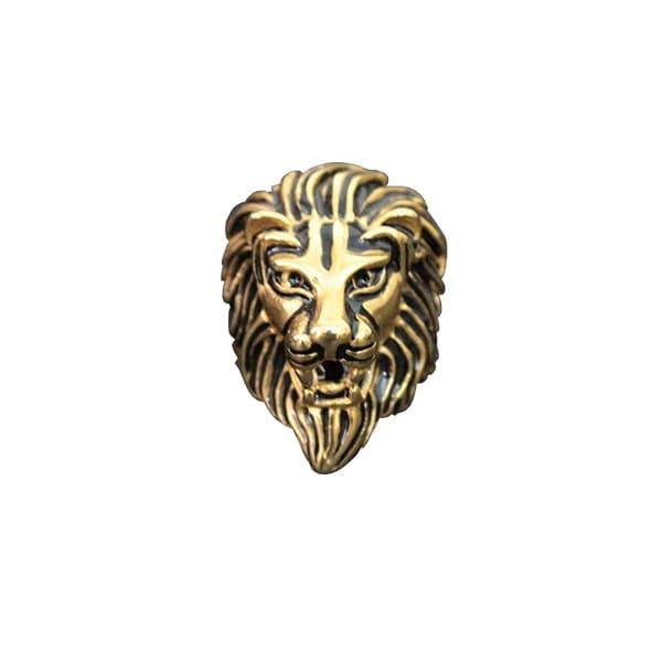 Bague Rasta  Brave Lion (Acier)
