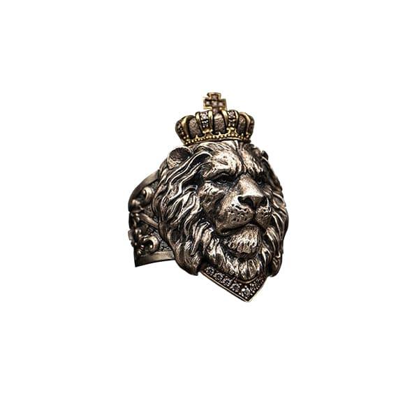 Bague Rasta  Roi Lion (Acier)