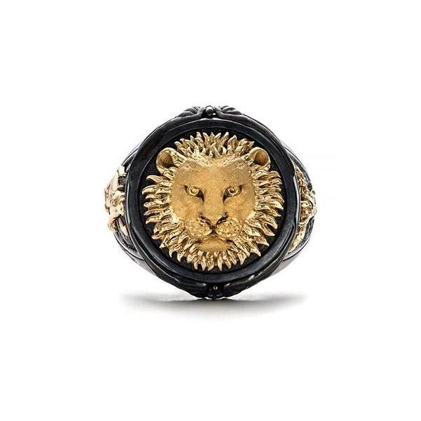 Bague Rasta  Lion Soleil (Acier)