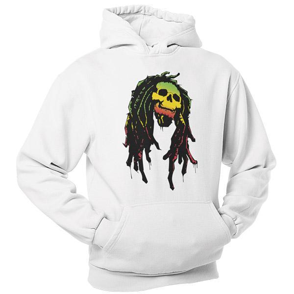 Sweat Rasta  Crâne Rastafari