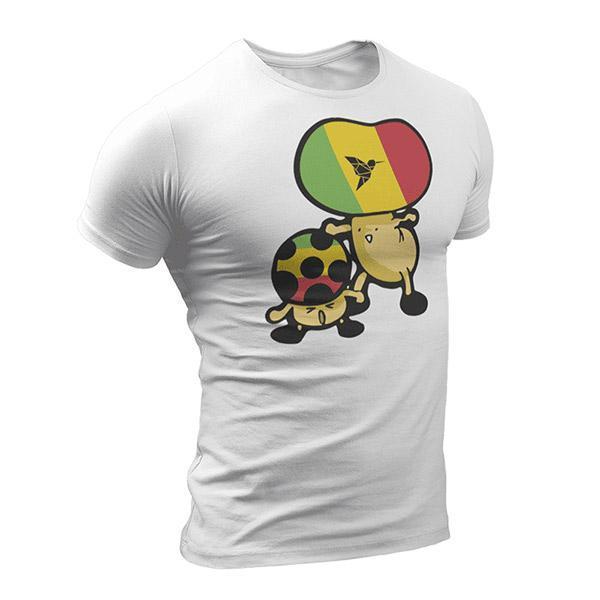 T-Shirt Rasta  Champignon Rasta