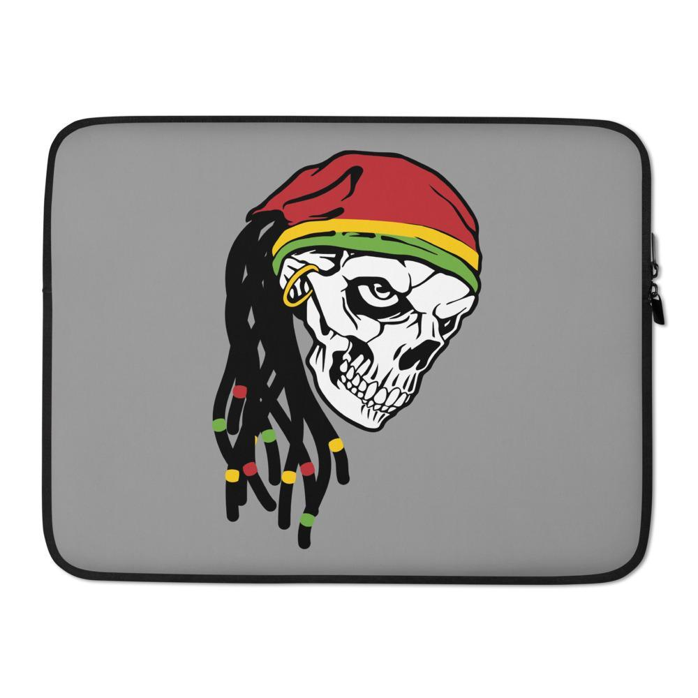 Housse PC Rasta  Crâne Rasta