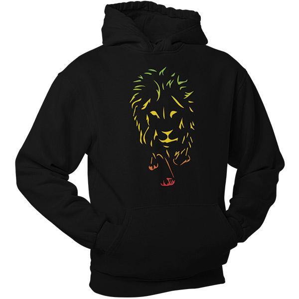 Sweat Rasta  Lion De Juda Tricolore