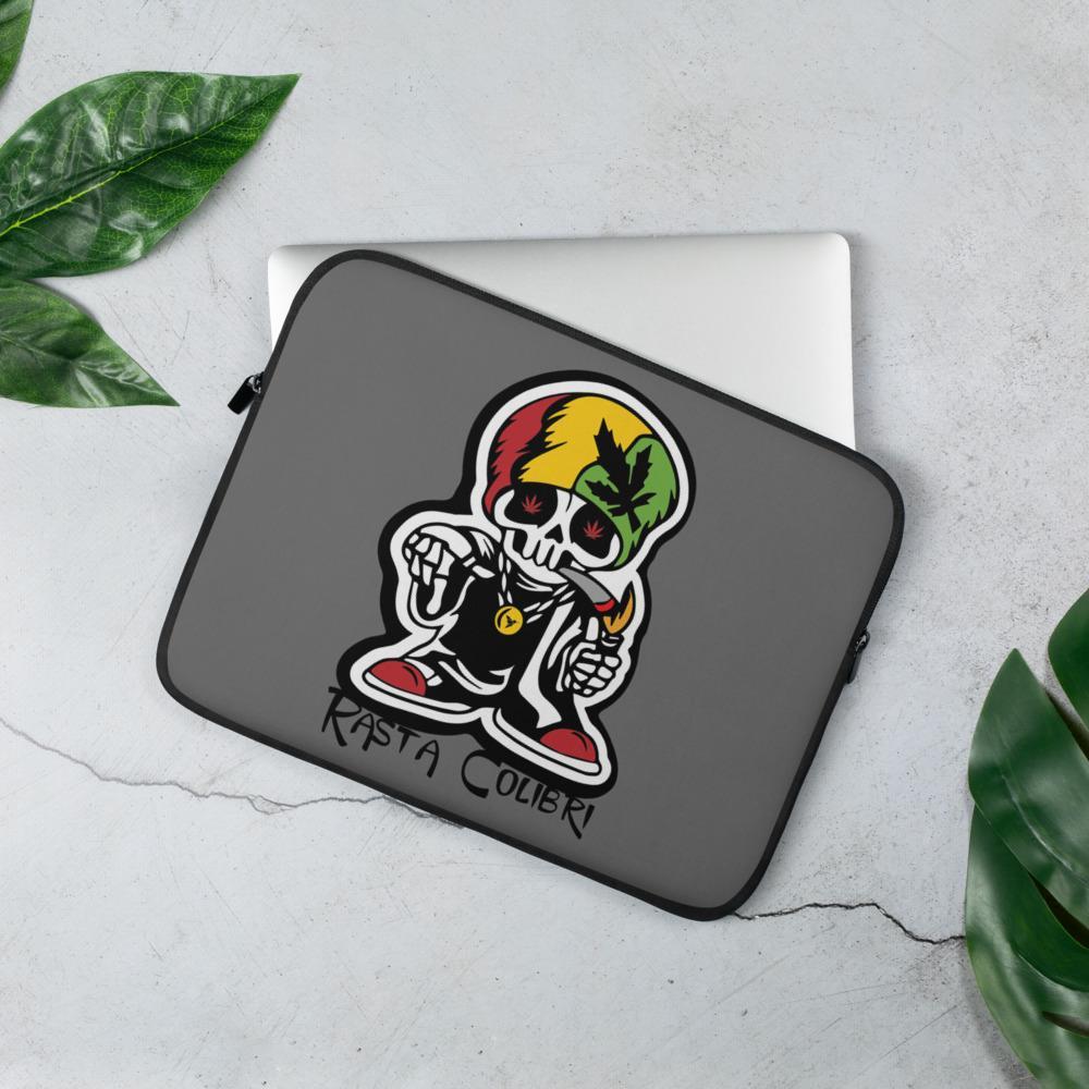 Housse PC Rasta  Crâne Reggaeman