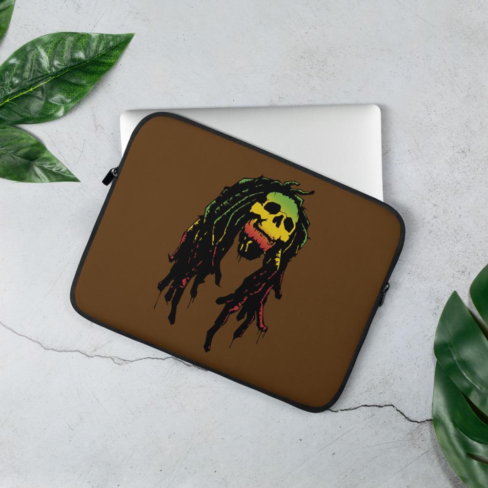 Housse PC Rasta  Crâne Rastafari