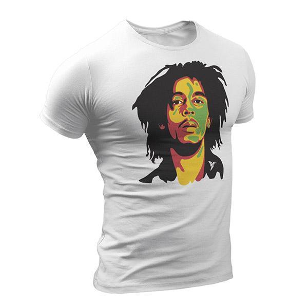 T-Shirt Rasta  Bob Marley