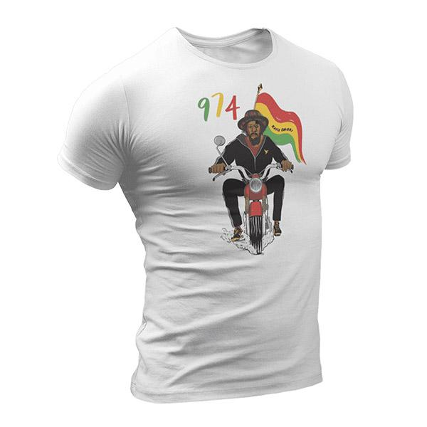 T-Shirt Rasta  Vibration 974