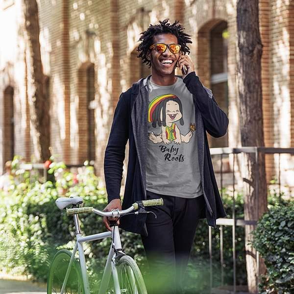 T-Shirt Rasta  Baby Roots