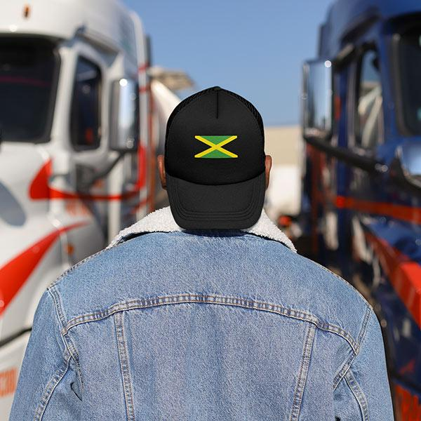 Casquette Rasta  Jamaïque (Trucker)