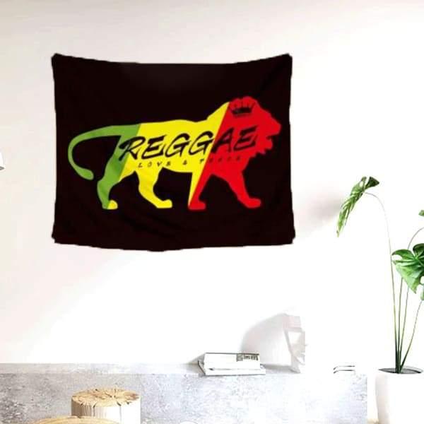 Drapeau Rasta  Lion De Juda