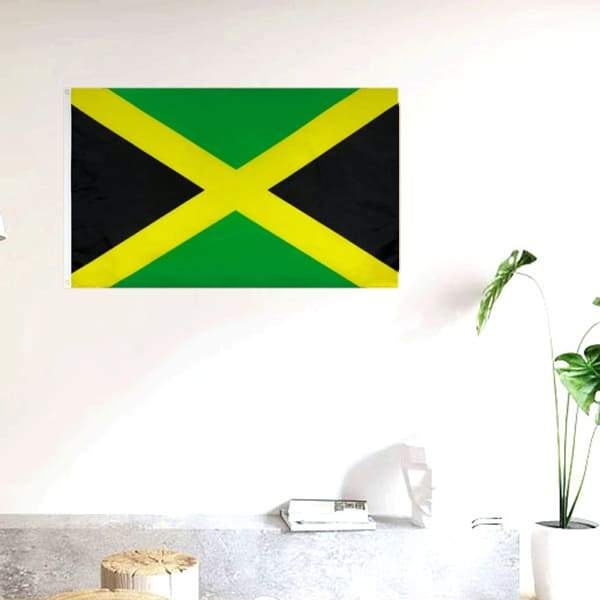 Drapeau Rasta  Jamaïque