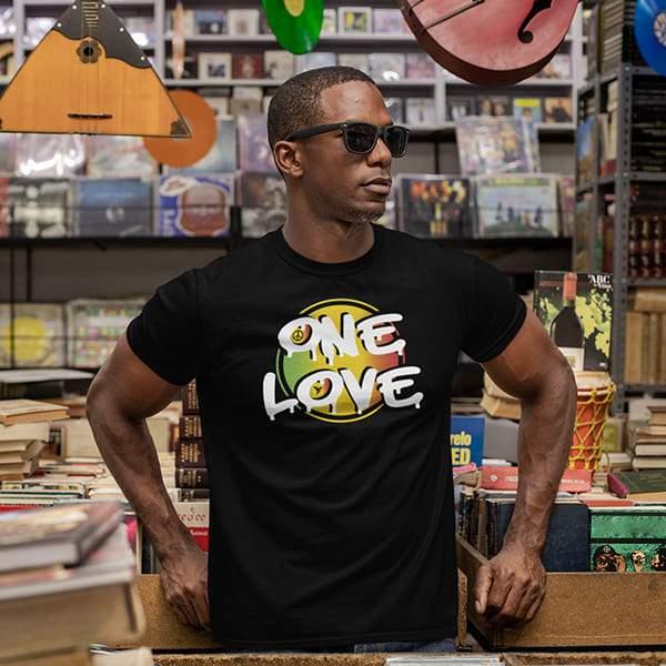 T-Shirt Rasta  One Love