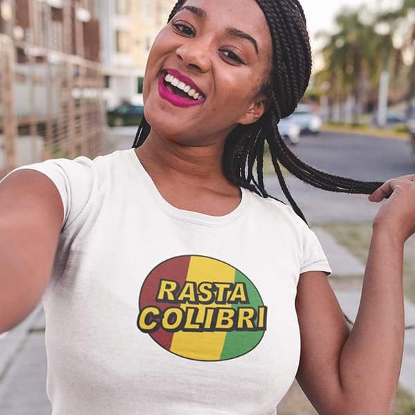 T-Shirt Rasta  Vert Jaune Rouge