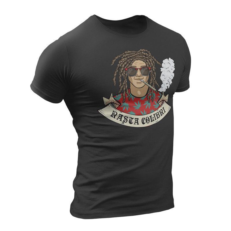 T-Shirt Rasta  Homme Roots